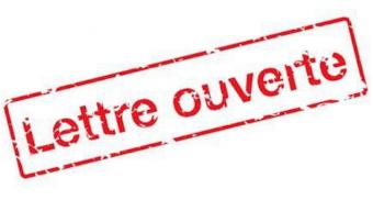 Logo de la lettre ouverte