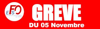 Grève du 5 novembre à l'EFS