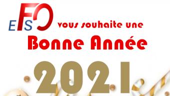 FO vous souhaite une très bonne année 2021