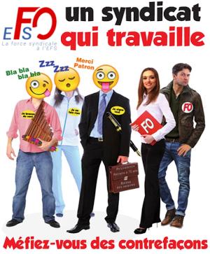 FO à l'EFS un syndicat qui travaille